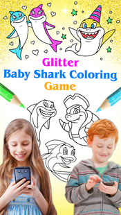 Screenshots - Baby Shark Coloring and Drawing