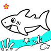 Baby Shark Coloring and Drawing
