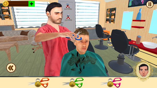 Screenshots - Barber Hair Salon Shop - Beard Cut game