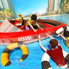 Beach Emergency Rescue Lifeguard