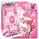 Beautiful Pink Flower Launcher Theme