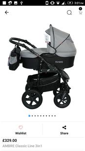 Screenshots - Bello Babies Strollers