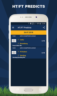 Screenshots - Bet Predict - Betting Predictions Tips