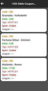 Screenshots - Betting Tips