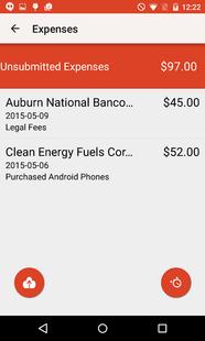 Screenshots - BigTime Mobile