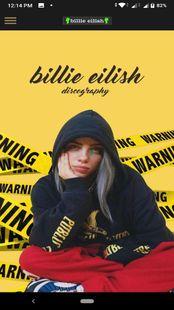 Screenshots - Billie Eilish discography