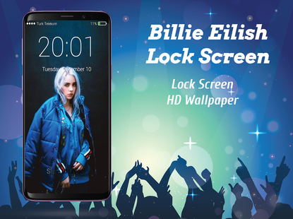 Screenshots - Billie Eilish Lock Screen