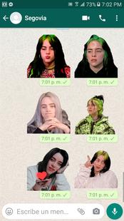 Screenshots - Billie Eilish Stickers