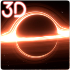 Black Hole Simulation 3D Live Wallpaper