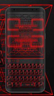 Screenshots - Black red keyboard