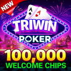 Blackjack & Video Poker - Triwin Poker free games