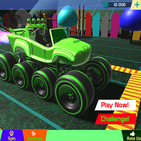 Blaze Monster Truck and Friends Racing Machines