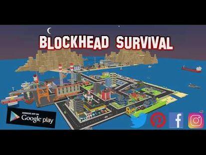 Video Image - Blockhead Surival
