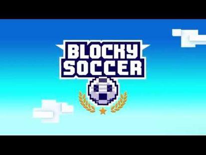 Video Image - Blocky Soccer
