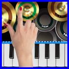 Blue Drum - Piano
