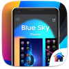 Blue Sky Theme For Computer Launcher