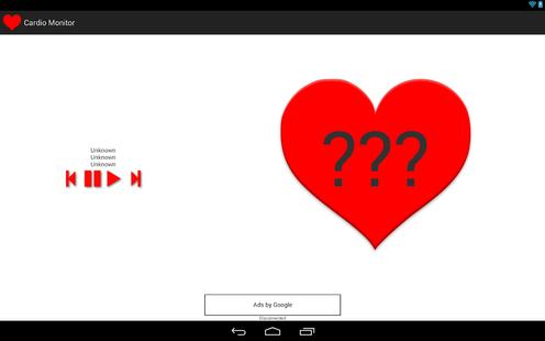 Screenshots - Bluetooth Heart Rate Monitor