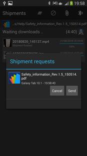 Screenshots - Bluetooth Transfer Any File
