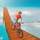 BMX Bicycle Stunts Impossible Tracks Riding