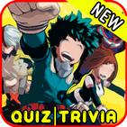 BNHA Boku No Hero Anime héroes Quiz Academy Game