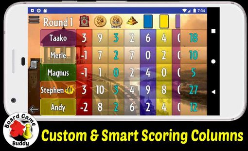 Screenshots - Board Game Buddy