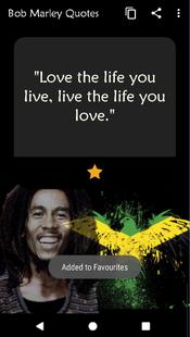 Screenshots - Bob Marley Quotes ⚽