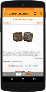 Screenshots - Bombay Auctions