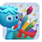 Bookful Magic 3D Paint & Color
