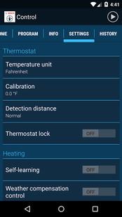 Screenshots - Bosch Control