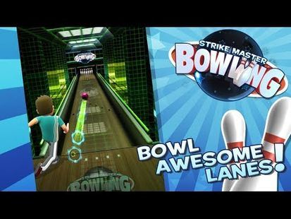 Video Image - Bowling 3D game