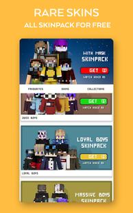 Screenshots - Boys Skins