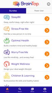 Screenshots - BrainTap Pro