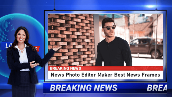 Screenshots - Breaking News Video Maker - Video Status Maker
