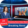 Breaking News Video Maker - Video Status Maker