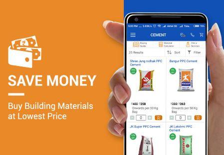Screenshots - Brick2Wall - Construction Material Shopping App