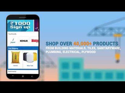 Video Image - Brick2Wall - Construction Material Shopping App