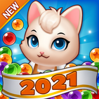 Bubble Shooter Cats POP : Puzzle Mania