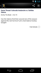 Screenshots - Buffalo Hockey News