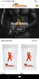 Screenshots - Bulk Supplements: Vitamin Shop