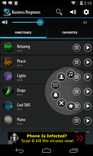 Screenshots - Business Ringtones