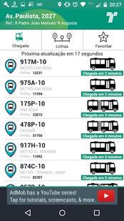 Screenshots - Cadê o Ônibus?
