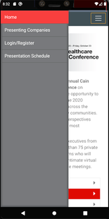 Screenshots - Cain Brothers Conference