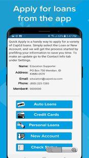 Screenshots - CapEd Mobile App