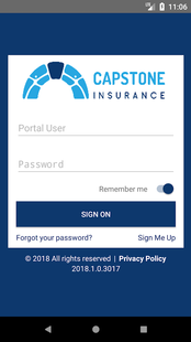 Screenshots - Capstone Insurance Online