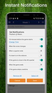 Screenshots - Cardinals Football: Live Scores, Stats, & Games