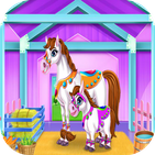 care horses stable - game horses
