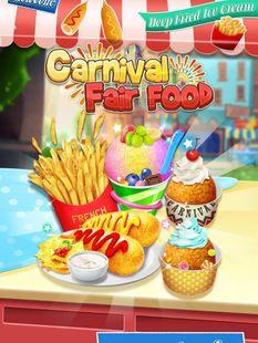 Screenshots - Carnival Fair Food - Crazy Yummy Foods Galaxy