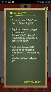 Screenshots - Carta Menú Digital for Phone