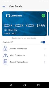 Screenshots - Central Wallet
