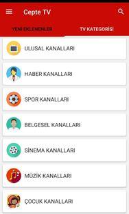 Screenshots - CepteTV - Türkçe TV Uygulaması
